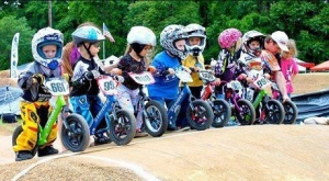 Kids as young as 2 can be included in racing and learning basic bike skills