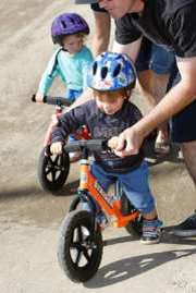 BMX Strider bikes for kids aged between 2-5