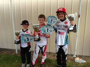 Ashmore BMX Club- SQ Titles 8yr old boys