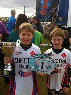 Ashmore BMX Club- SQ Winners
