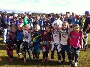 Ashmore BMX Club- the girls